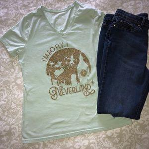 Tops - Hand Embellished Disney's Peter Pan T-Shirt